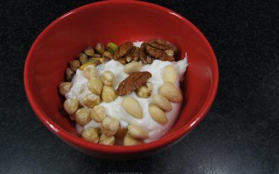 Kwark met noten