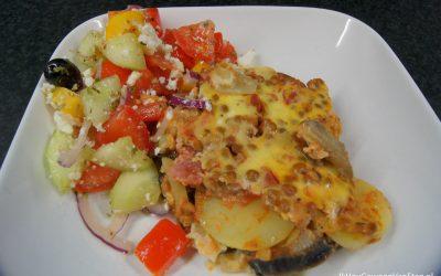 Vegetarische moussaka (met linzen)