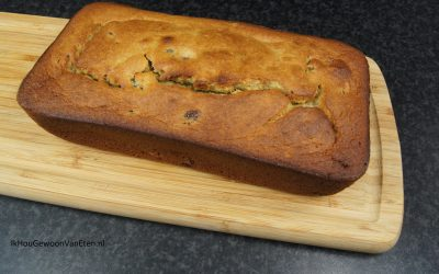 Heerlijk bananenbrood van Mireille