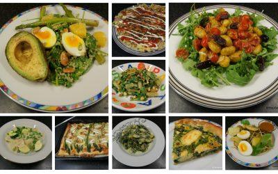 10 snelle, makkelijke, lekkere, vegetarische recepten