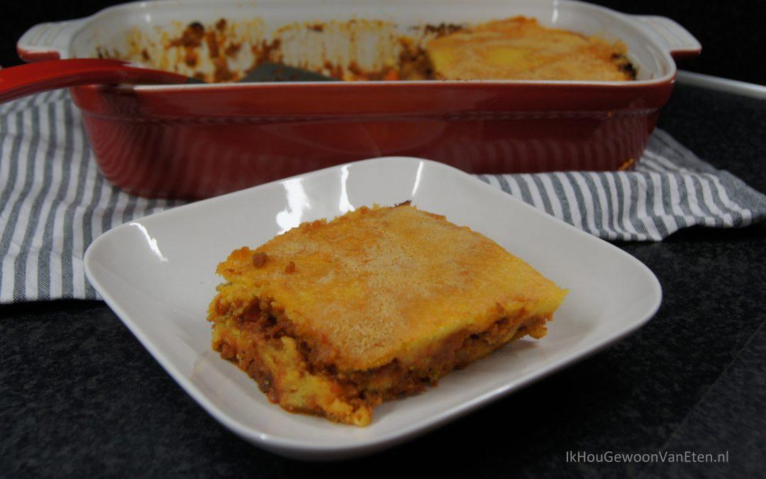 Polenta-lasagne van Nigella