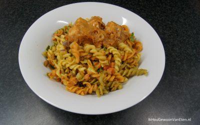 Macaroni a la pappa – maar dan vegetarisch