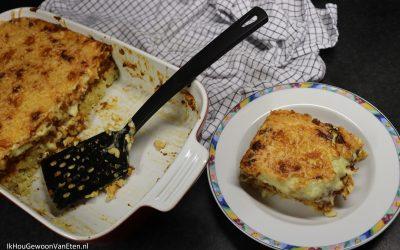 Pastitio – Griekse pasta ovenschotel