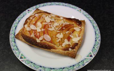 Galettes met appel, peer en nectarine
