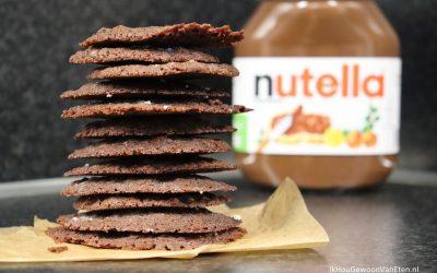 Nutella koekjes